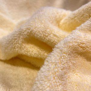 RIZO 100% ALGODÓN ORGÁNICO amarillo suave